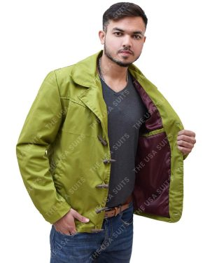 Mens Green Jacket