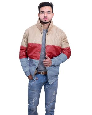 Mens Multi-Colour Satin Jackets